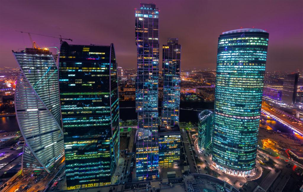 Фото Москва-Сити строится. 2015 год
